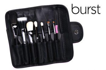 Make up Brush sale South Africa, Johannesburg, Gauteng, 7 Piece Brush Kit - TRAVEL SIZE, natural hair, free disposable mascara wand online makeup