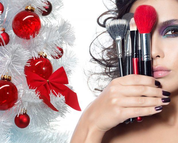 Christmas Makeup Ideas | Burst Makeup Brushes