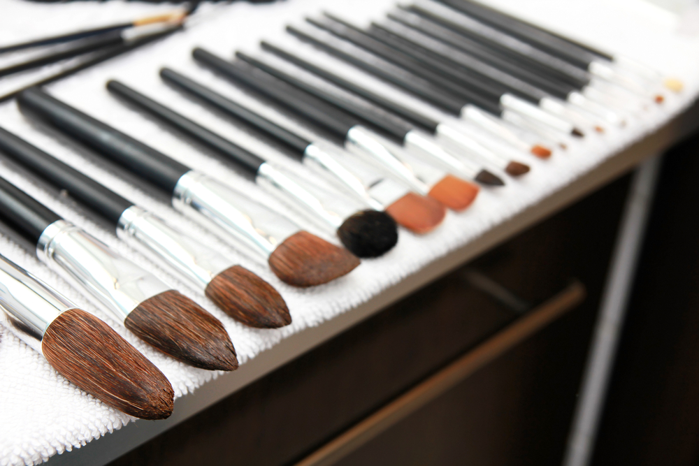 Cleaning your Makeup Brushes with Soap | Burst Makeup Brushes